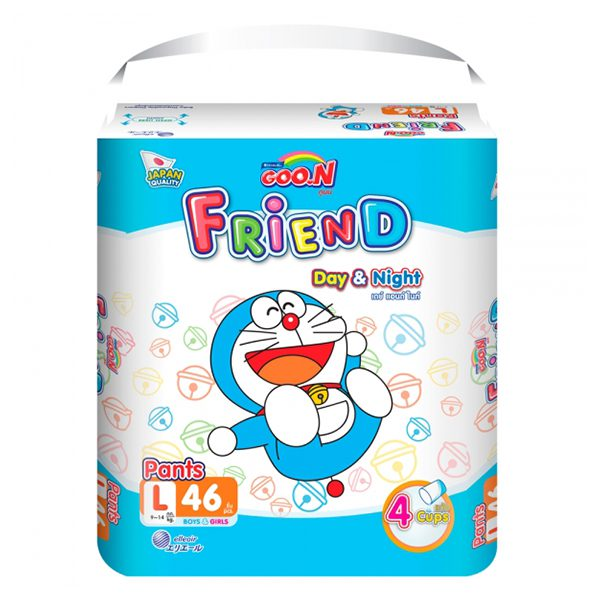 Tã Quần Goo.N Friend Super Jumbo L46