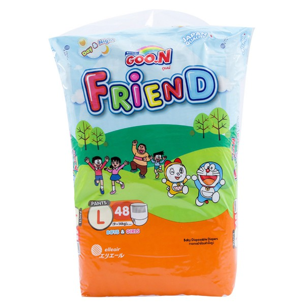 Tã Quần Goo.N Friend Super Jumbo L48