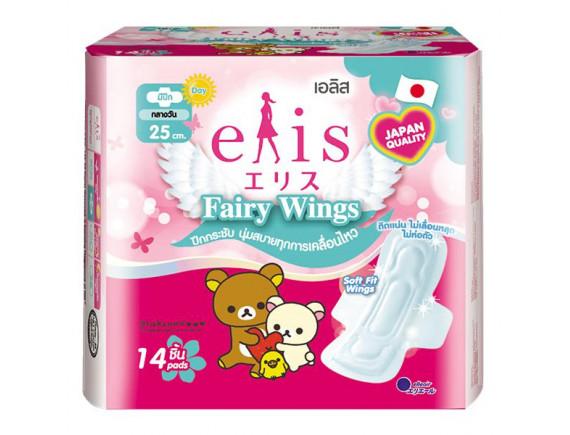 Băng Vệ Sinh Elis Fairy Siêu Thấm Có Cánh 25Cm 14 Miếng