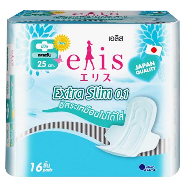 Băng Vệ Sinh Elis Extra Slim 25Cm 16 Miếng