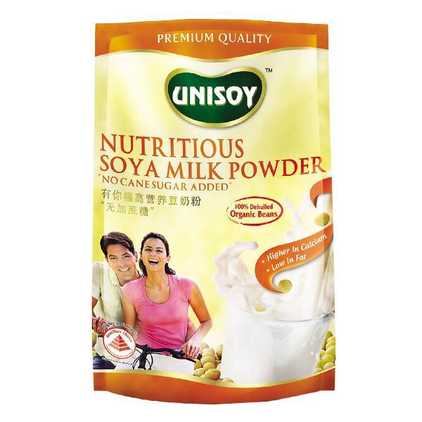 Bột Sữa Đậu Nành Dinh Dưỡng Không Đường Unisoy 360G