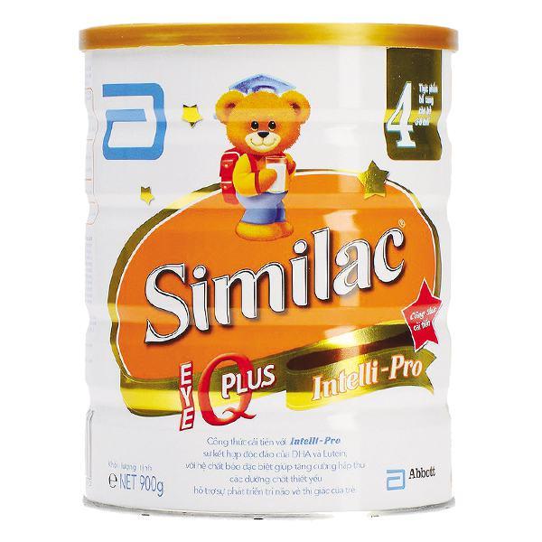 Sản Phẩm Dinh Dưỡng Similac IQ 4 900G (2-6 Tuổi)