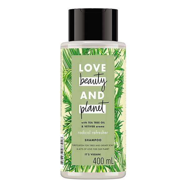 Dầu Gội Love Beauty And  Planet Detox Xanh Lá 400Ml