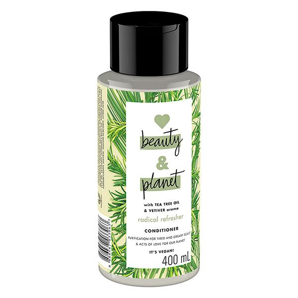 Dầu Xả Love Beauty And Planet Detox Xanh Lá 400Ml
