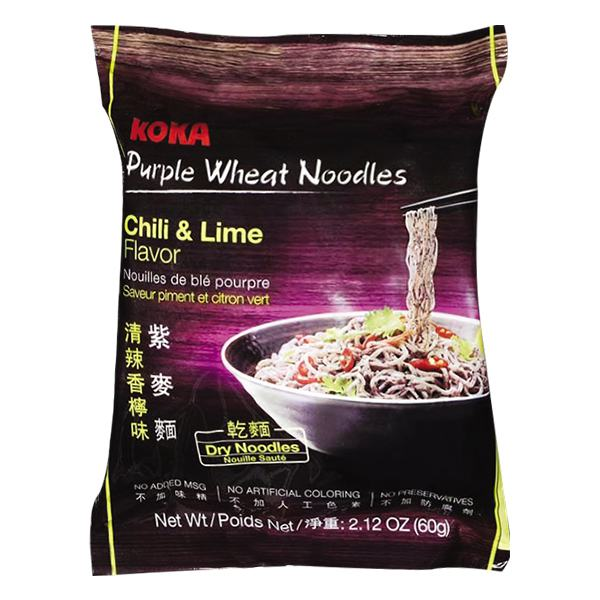 Mì Xào Khô Koka Purple Wheat Chilli 60G