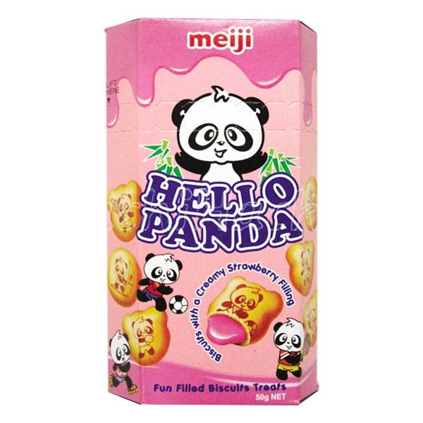 Bánh Meiji Hello Panda Dâu Hộp 50G