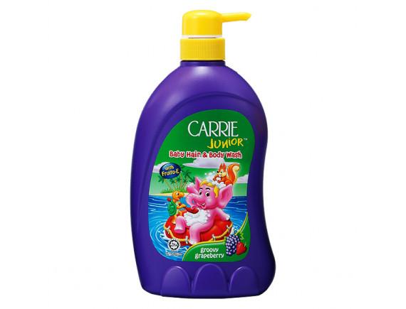 Sữa Tắm Gội Carrie Junior Grapeberry 700G