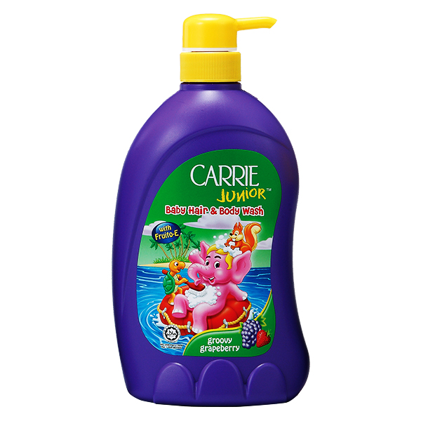 Sữa Tắm Gội Carrie Junior Grapeberry 700G