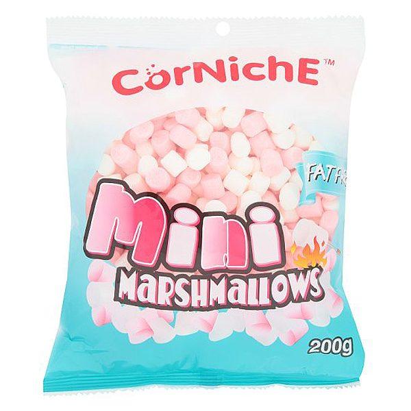 Kẹo Xốp Marshmallow Mini Corniche Gói 200G