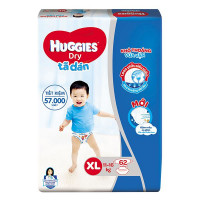 Tã Dán Huggies Super Jumbo XL62