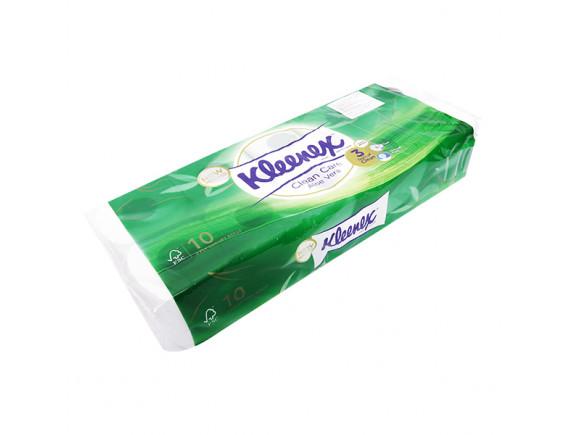 Lốc 10 Cuộn Giấy Vệ Sinh Kleenex Hương Lô Hội