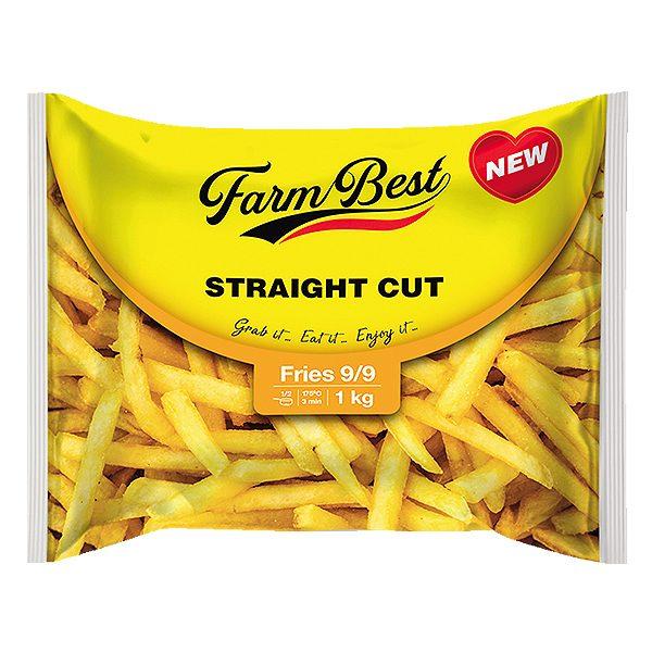 Khoai Tây Farm Best Straight Cut Gói 1Kg