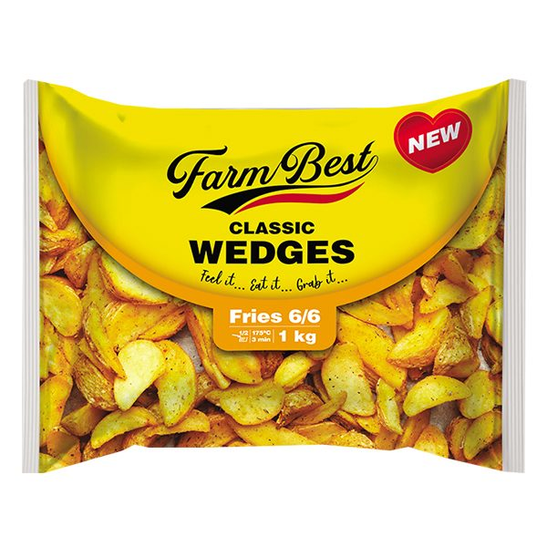 Khoai Tây Farm Best Classic Wedges Gói 1Kg