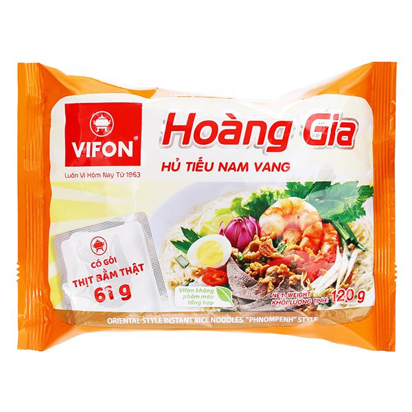 Hủ Tiếu Nam Vang Hoàng Gia Vifon Gói 120G