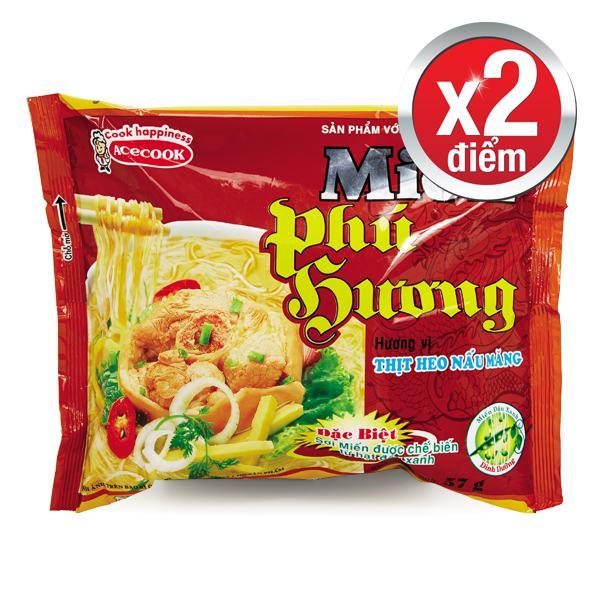 Miến Phú Hương Thịt Heo Nấu Măng 57G