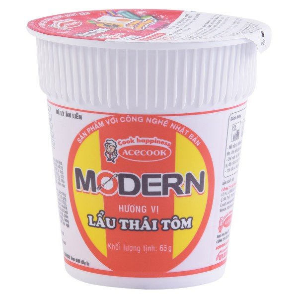 Mì Ly Modern Lẩu Thái Tôm 65G