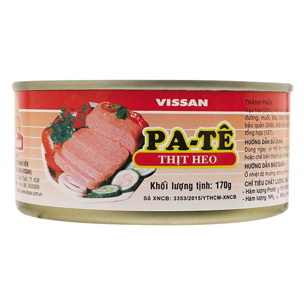 Pate Thịt Heo Vissan Hộp 170G
