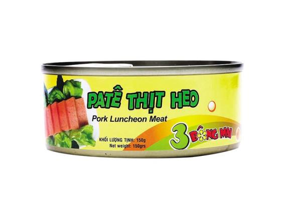 Pate Thịt Heo Ba Bông Mai 150G