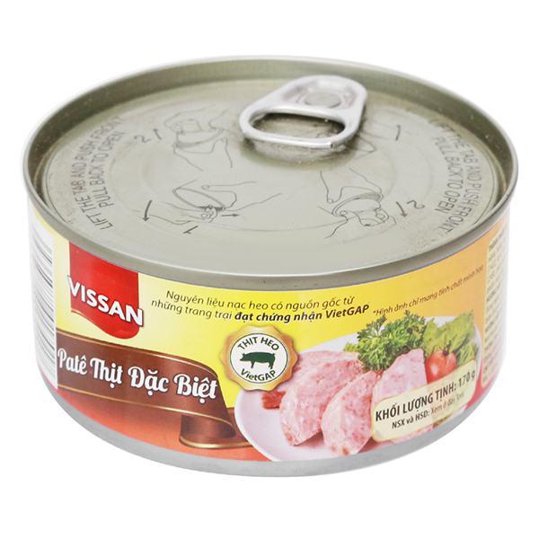 Pate Vissan Thịt Đặc Biệt Hộp 170G