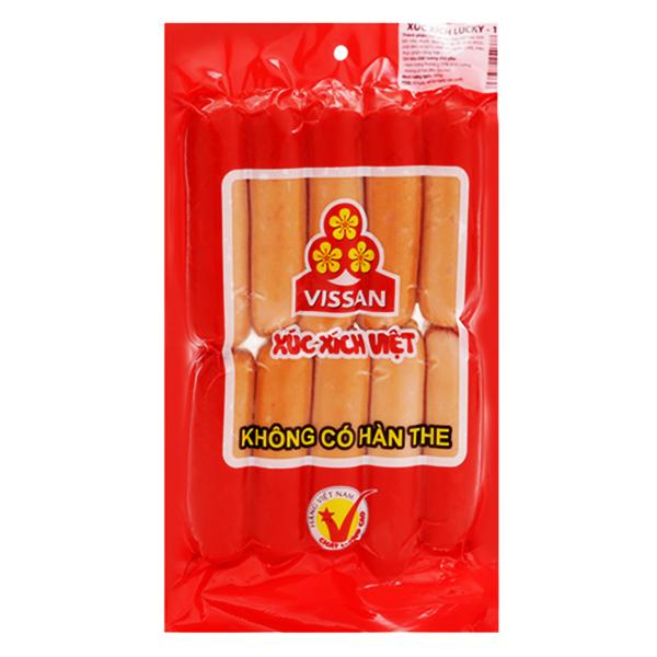 Xúc Xích Vissan Lucky Việt 10 Cây 500G