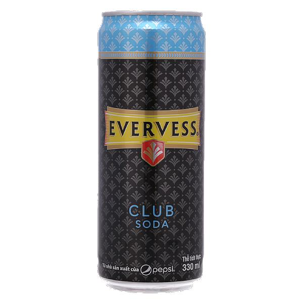 Soda Evervess Sleek Lon 330Ml