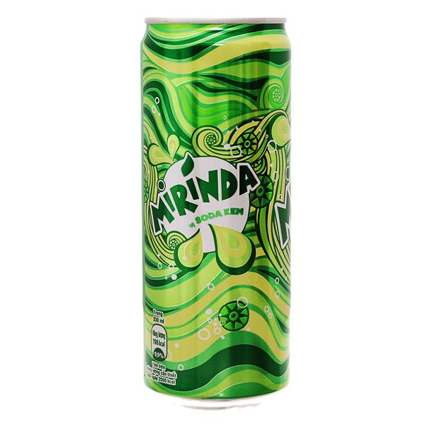Nước Ngọt Mirinda Vị Soda Kem Lon 330Ml