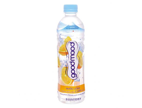 Nước Uống Vị Cam Goodmood  455Ml