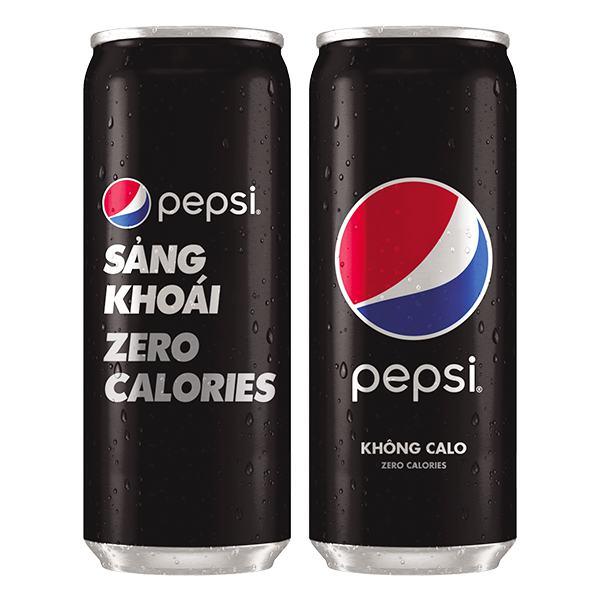 Nước Ngọt Pepsi Zero Calories Lon 330Ml