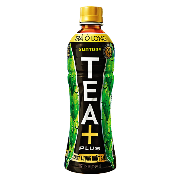Trà Ô Long Tea Plus 455Ml