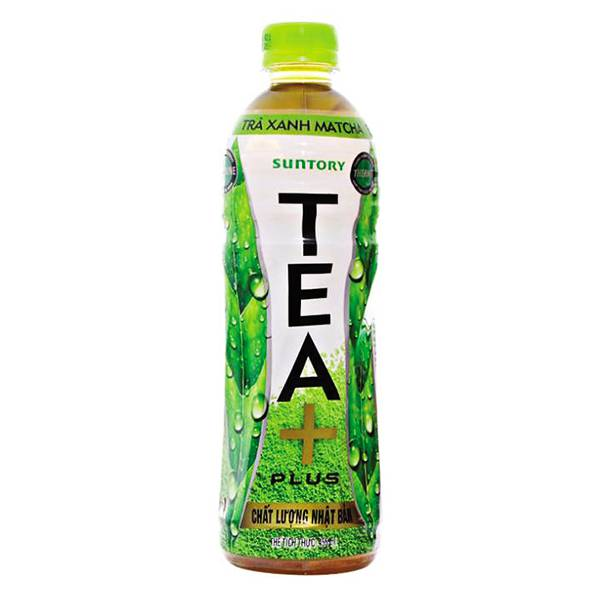 Trà Ô Long Tea Plus Matcha 455Ml