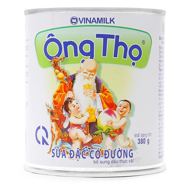 Sữa Đặc Có Đường Ông Thọ Chữ Xanh 380G