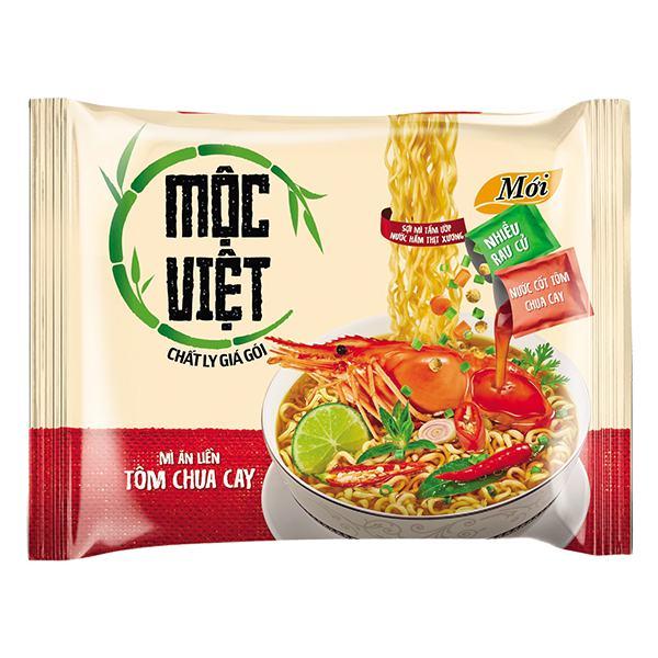 Mì Mộc Việt Vị Tôm Chua Cay 75G