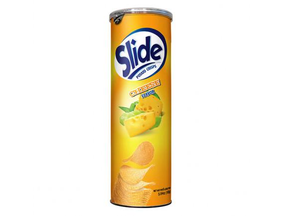 Snack Khoai Tây Slide Vị Phô Mai Hộp 160G