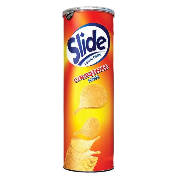 Snack Khoai Tây Slide Vị Tự Nhiên 100G
