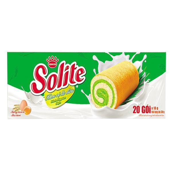 Bánh Solite Swiss Roll Dứa 360G