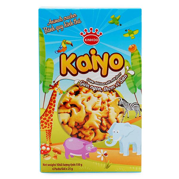 Bánh Quy Kaiyo Hình Thú Hộp Giấy 150G