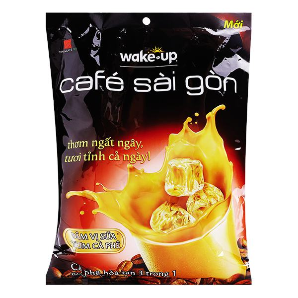 Cà Phê Wake Up Sài Gòn Bịch 24 Gói 19G
