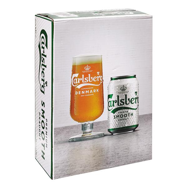 Thùng 24 Lon Bia Carlsberg 330Ml