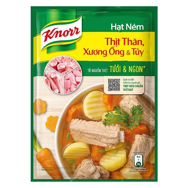 Hạt Nêm Knorr Thịt Thăn Xương Ống Và Tủy Gói 170G