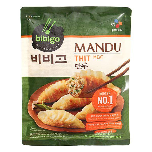 Bánh Xếp Mandu Bibigo Nhân Thịt 350G
