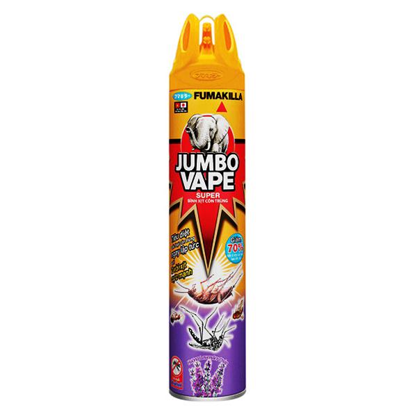 Xịt Côn Trùng Jumbo Vape Lavender 600Ml