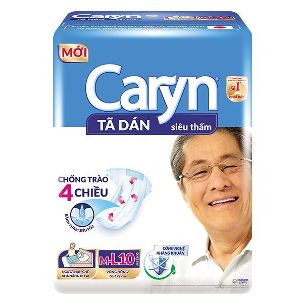 Tã Giấy Người Lớn Caryn Size ML10