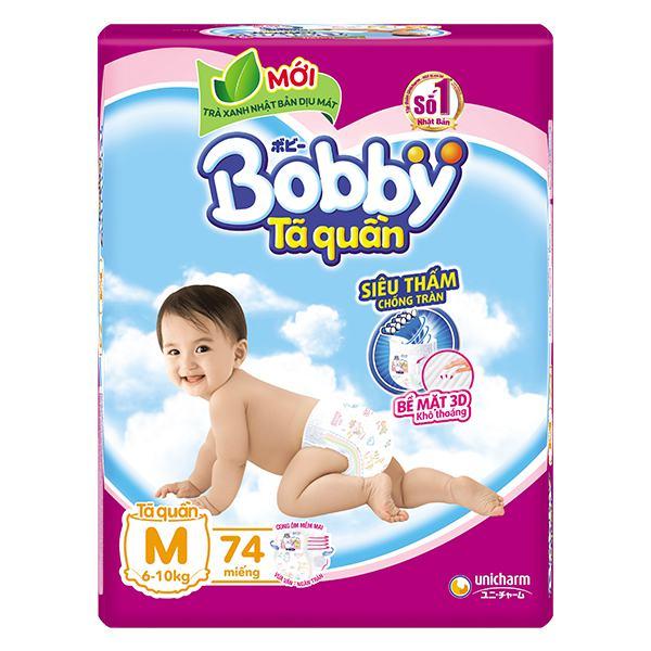 Tã Quần Bobby Super Jumbo M74