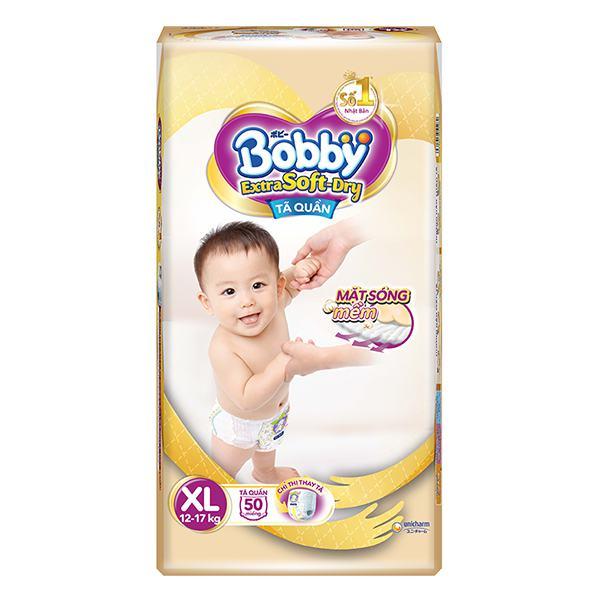 Tã Quần Bobby Extra Soft Dry XL50