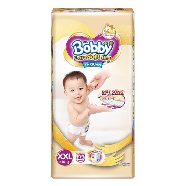 Tã Quần Bobby Extra Soft Dry XXL46