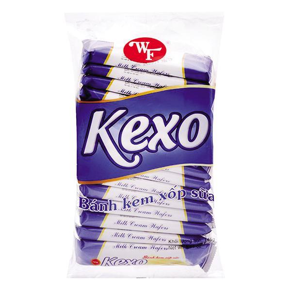 Bánh Kem Xốp Kexo Hữu Nghị Vani Sữa 145G