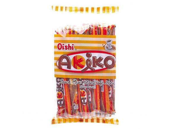 Bánh Snack Que Akiko Nhân Cà Phê Moka 160G