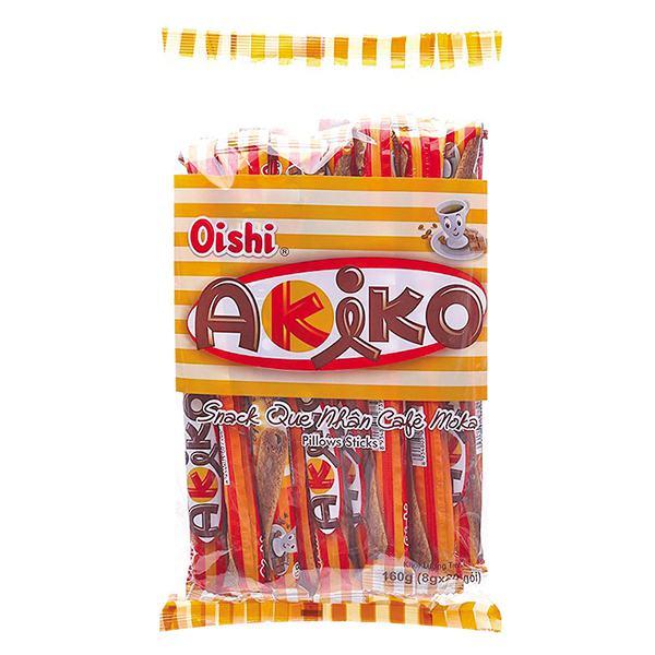 Snack Que Akiko Nhân Cà Phê Moka 160G