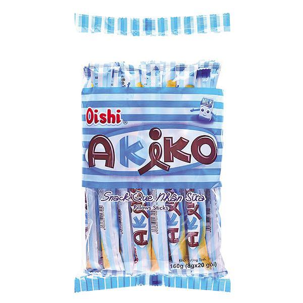 Snack Que Akiko Nhân Sữa 160G