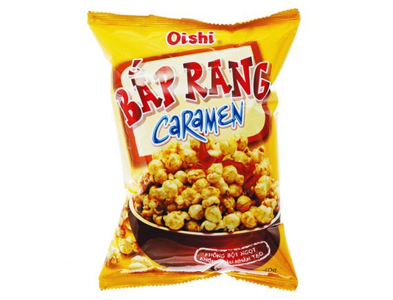 Snack Oishi Bắp Rang Caramen Gói 45G